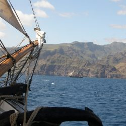 Sailing in the Canaries