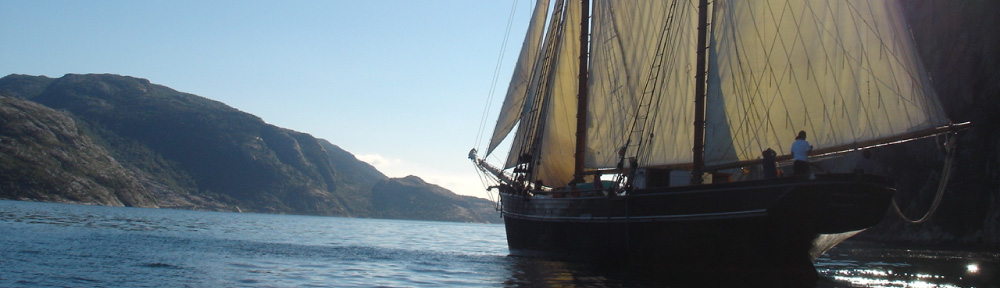 Bessie Ellen sailing in Scotlamd