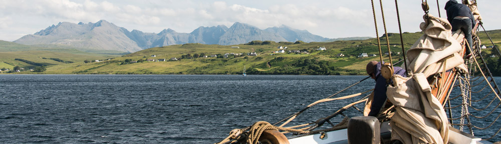 Hebridean sailing