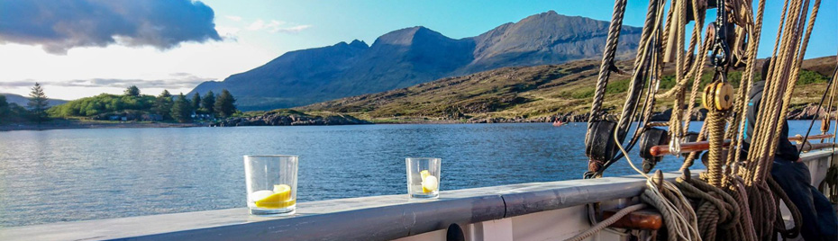 gin and tonic in the sun in Scotland credit Gemma Turner