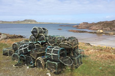 Scottish crab pots