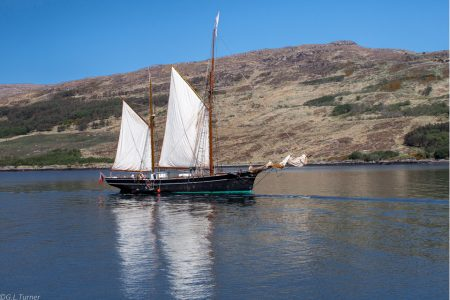 Bessie Ellen in te Highlands