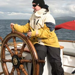 Guest at the helm