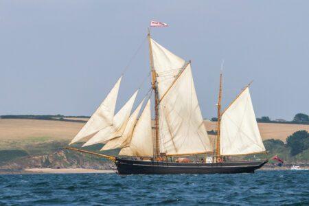 Bessie Ellen on the Cornish coast