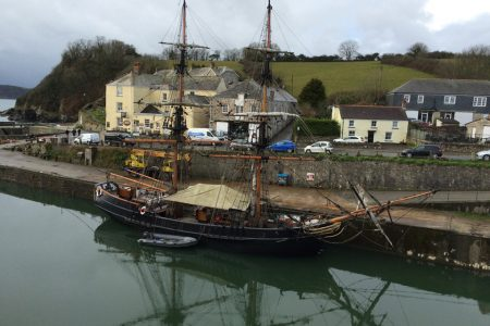Moored up in Charlestown