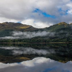 Still morning Loch duich